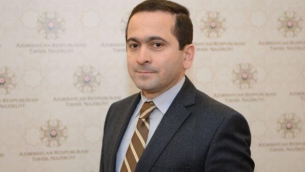 Cəsarət Valehov - Sputnik Azərbaycan