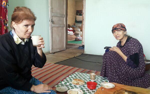 Сестры Садагат и Ушарат - Sputnik Азербайджан