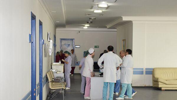 Врачи в диагностическом центре, фото из архива - Sputnik Азербайджан