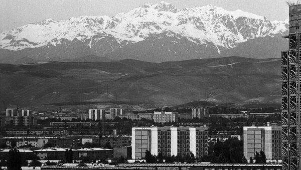 Душанбе. Архивное фото - Sputnik Азербайджан