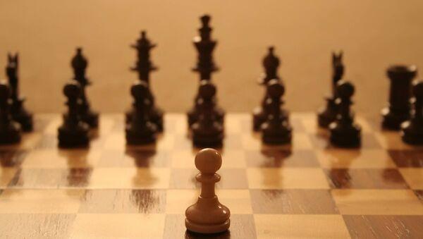 Шахматная партия. Архивное фото - Sputnik Азербайджан