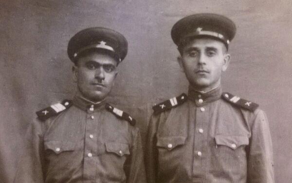 A.Səmədov 77-ci atıcı diviziyası 105-ci atıcı polkun 7-ci rotasında xidmət edib - Sputnik Azərbaycan