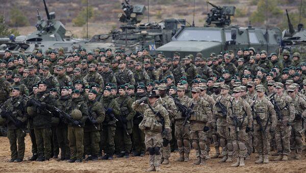 Совместные учения батальона НАТО и литовской армии. Архивное фото - Sputnik Azərbaycan