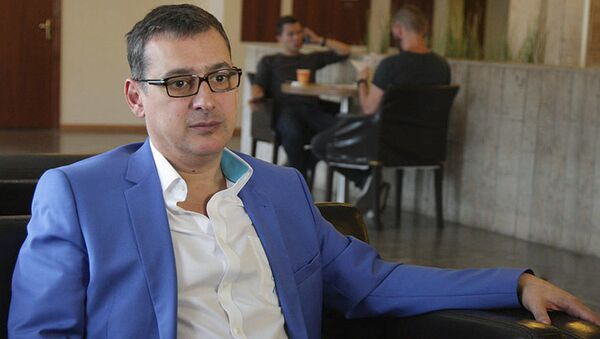 Главный тренер сборной РФ по фехтованию, двукратный олимпийский чемпион Ильгар Мамедов - Sputnik Азербайджан
