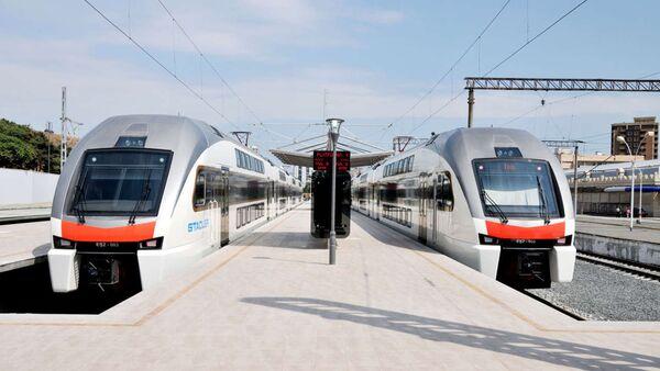 Поезда Сумгайыт-Баку - Sputnik Азербайджан