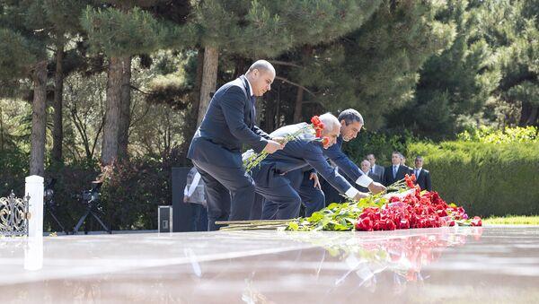93-я годовщина со дня рождения общенационального лидера Азербайджана Гейдара Алиева - Sputnik Азербайджан
