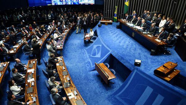 Голосование в Сенате Бразилии - Sputnik Азербайджан