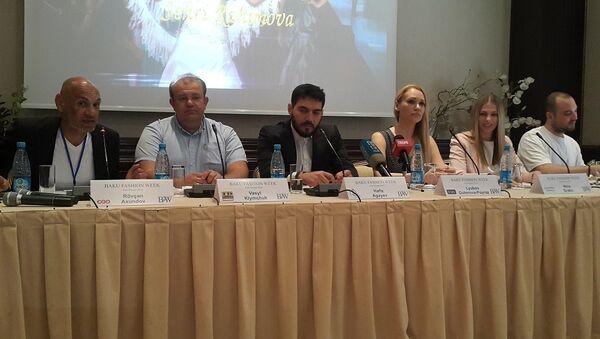 Пресс- конференция организаторов недели моды Baku Fashion Week 2016 - Sputnik Азербайджан