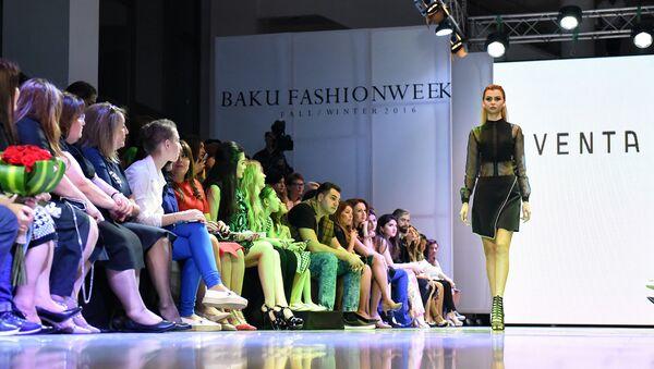 Открытие Baku Fashion Week 2016, 13 мая 2016 года - Sputnik Азербайджан