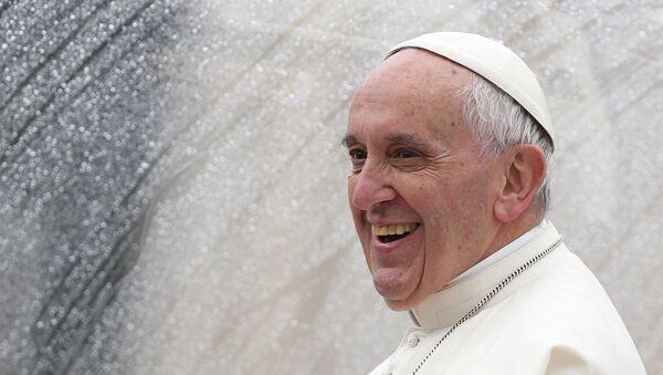 Папа римский Франциск. Архивное фото - Sputnik Азербайджан