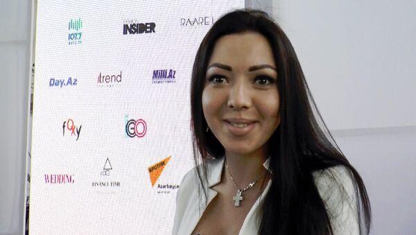 Ана Жебняк, украинский дизайнер-модельер - Sputnik Азербайджан