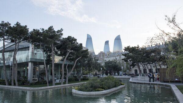 Ясная погода в Баку. Архивное фото - Sputnik Азербайджан