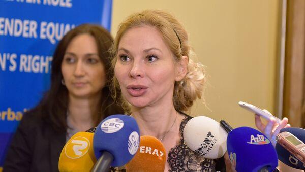 Глава представительства ЕС в Азербайджане Малена Мард - Sputnik Азербайджан
