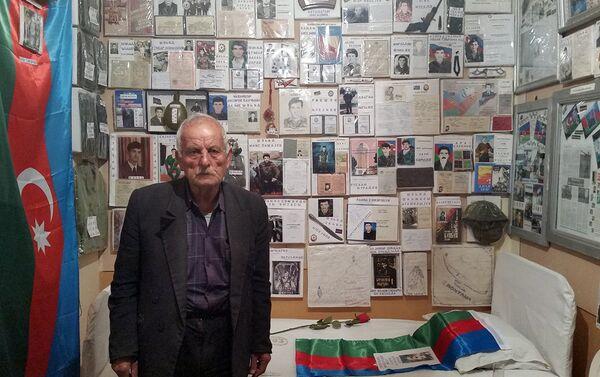Самая большая поддержка Эльнары ханум – ее отец Таги Тагиев - Sputnik Азербайджан