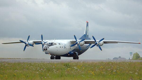 Cамолет АН-12 авиакомпании Silk Way. Архивное фото - Sputnik Азербайджан