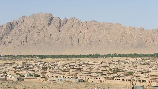Вид на провинцию Гильменд, Афганистан. Архивное фото - Sputnik Азербайджан