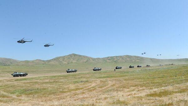 Военные учения. Архивное фото - Sputnik Азербайджан