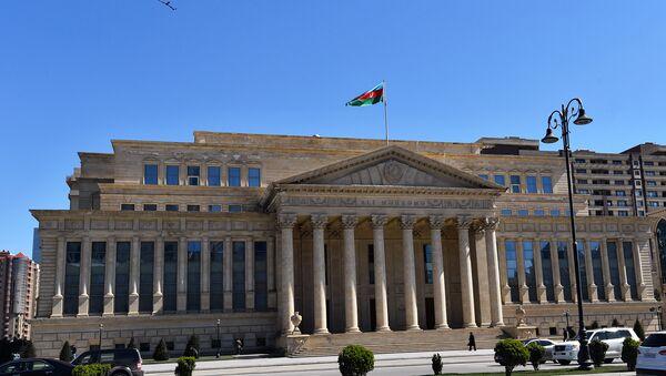 Здание Верховного суда Азербайджанской Республики - Sputnik Азербайджан