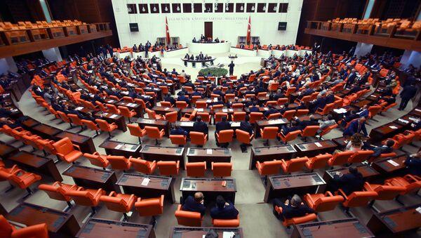 Парламент Турции. Архивное фото - Sputnik Азербайджан