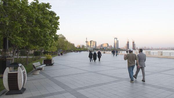 Приморский бульвар в Баку - Sputnik Азербайджан