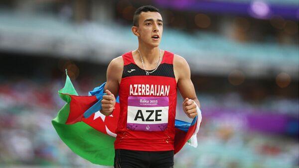 Atlet Nazim Babayev - Sputnik Azərbaycan