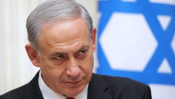 İsrailin baş naziri Benyamin Netanyahu - Sputnik Azərbaycan