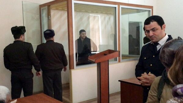 Архивное фото судебного процесса над Джавидом Гусейновым - Sputnik Азербайджан