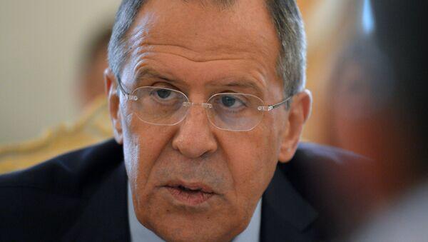 Министр иностранных дел РФ Сергей Лавров - Sputnik Azərbaycan