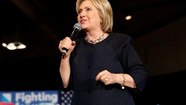 Хиллари Клинтон, кандидат в президенты США от Демократической партии - Sputnik Азербайджан