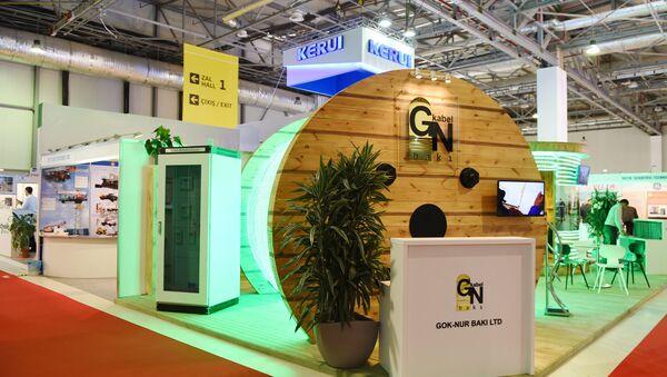 Павильон XXIII Международной выставки Нефть и газ Каспия 2016 - Sputnik Азербайджан