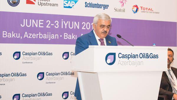 Глава SOCAR Ровнаг Абдуллаев. Архивное фото - Sputnik Азербайджан