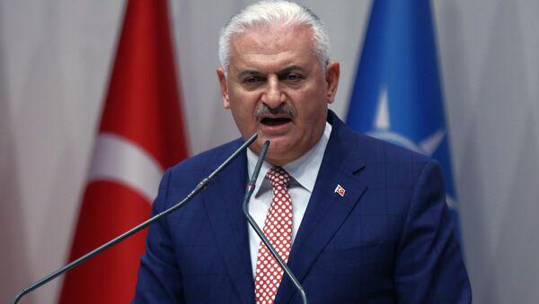 Бинали Йылдырым, премьер-министр Турции, архивное фото - Sputnik Азербайджан