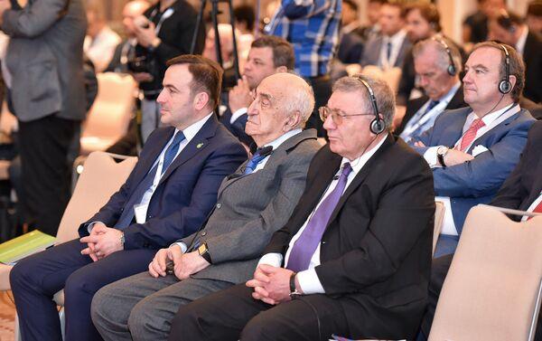 Участники XXIII Международной выставки и конференции Нефть и Газ Каспия - Sputnik Азербайджан