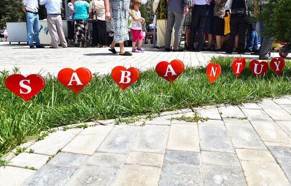 Татарский праздник Сабантуй 2016 в Баку - Sputnik Азербайджан