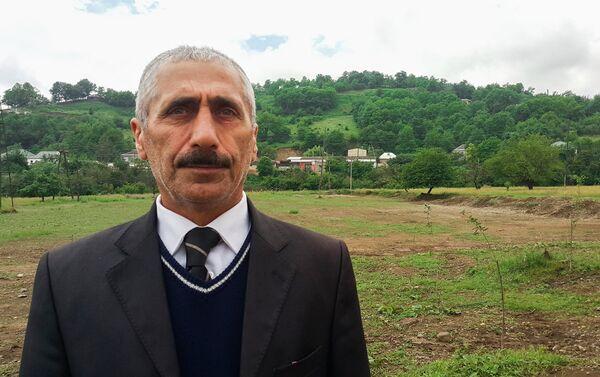 Директор Дома фольклора деревни Хиль Хизамат Пашаев - Sputnik Азербайджан
