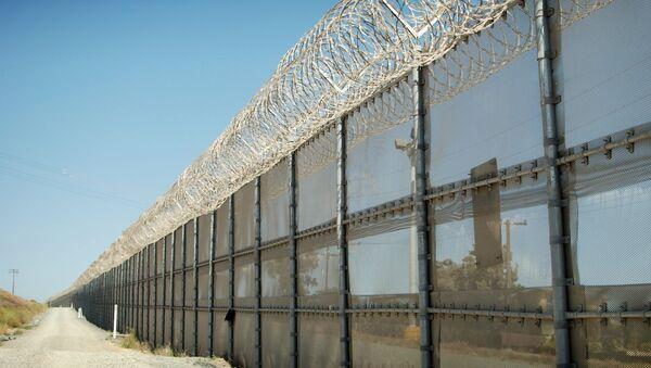 Граница. Архивное фото - Sputnik Азербайджан
