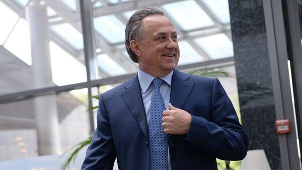 Министр спорта РФ Виталий Мутко - Sputnik Азербайджан