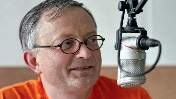 Заместитель председателя Союза журналистов Литвы Аудрис Антанайтис - Sputnik Азербайджан