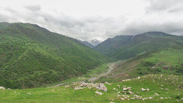 Село в Гедабекском районе. Архивное фото - Sputnik Азербайджан