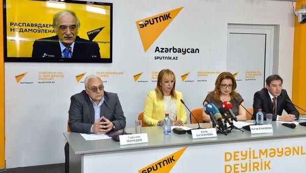 Minsk-Bakı videokörpüsü - Sputnik Azərbaycan