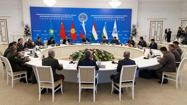 Совещание министров обороны государств-членов ШОС - Sputnik Азербайджан