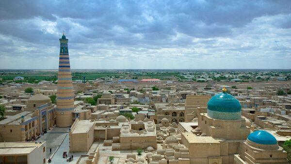 Узбекистан, вид на город. Архивное фото - Sputnik Азербайджан