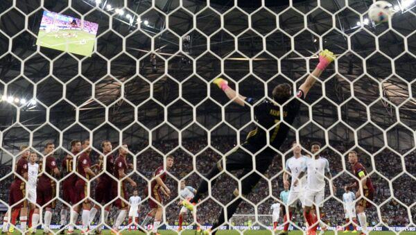 Футбол. Чемпионат Европы - 2016. Матч Англия - Россия - Sputnik Azərbaycan