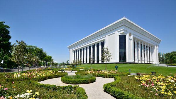 Дворец форумов Узбекистан в Ташкенте - Sputnik Азербайджан