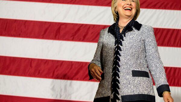 Хиллари Клинтон - Sputnik Азербайджан
