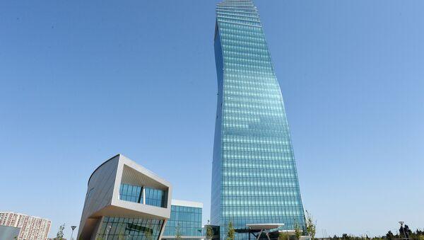 Новый головной офис SOCAR в Баку - Sputnik Azərbaycan