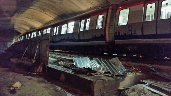İstanbulda metro qəzası - Sputnik Azərbaycan