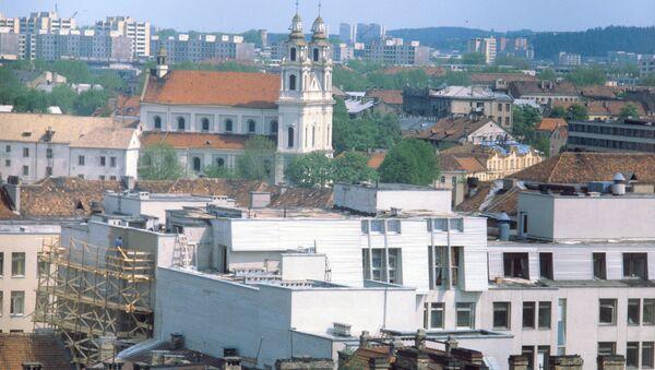 Вид на город Вильнюс - Sputnik Азербайджан