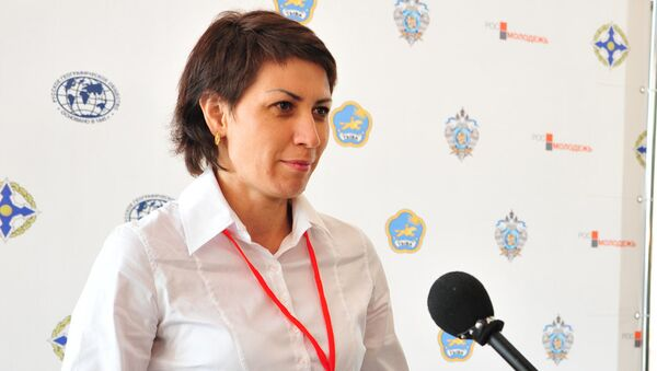 Российская спортсменка Татьяна Лебедева - Sputnik Азербайджан