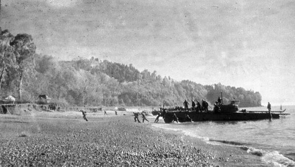 Керченско-Эльтигенская десантная операция.1 ноября 1943 года - Sputnik Азербайджан